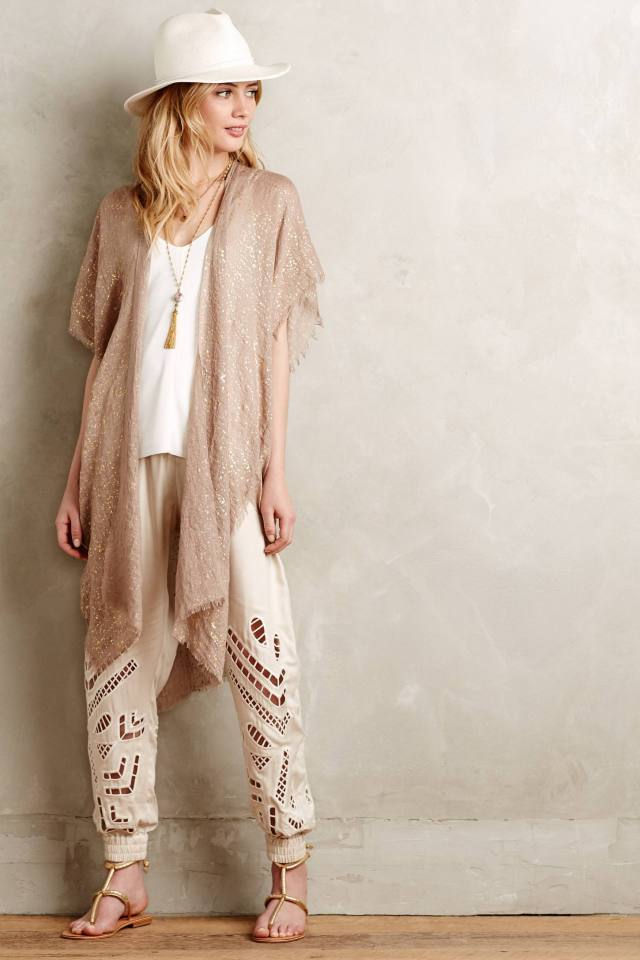 Shimmered Esterel Kimono by Subtle Luxury