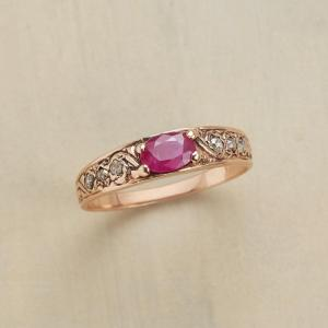 Anik Kastan Star Kissed Ruby Ring