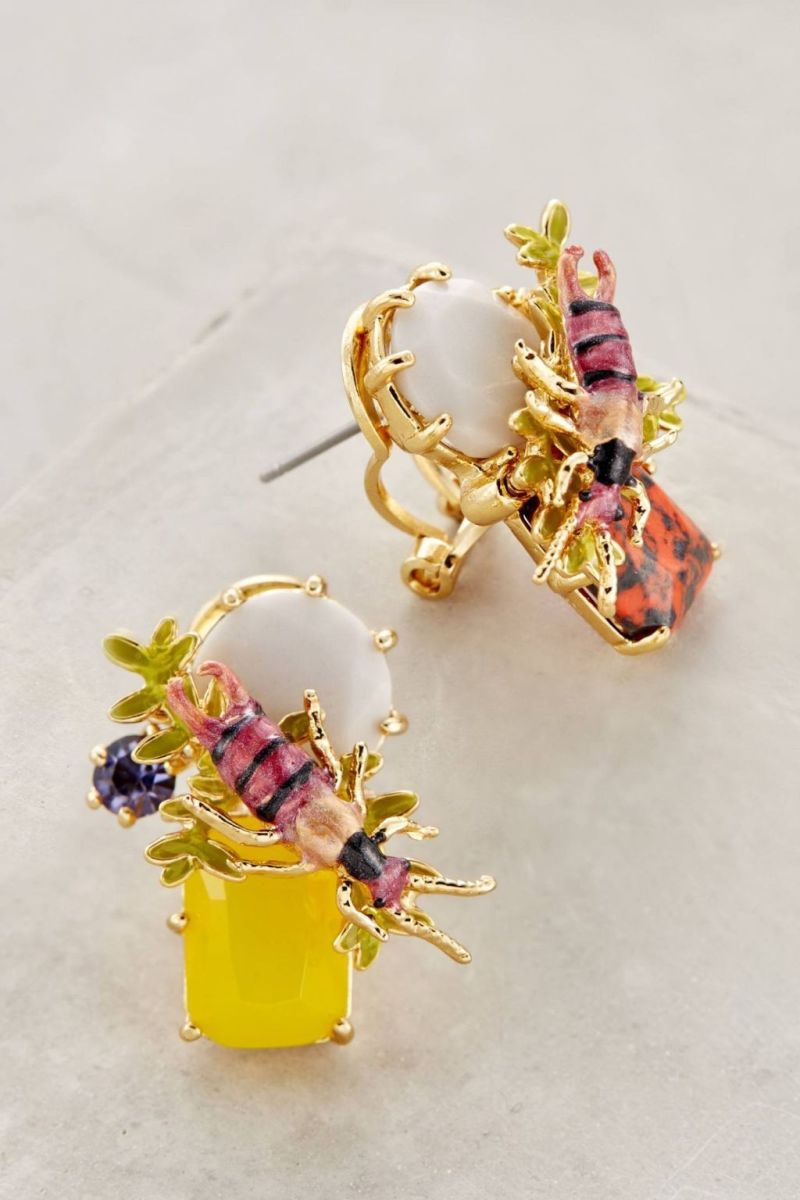 Anthropologie's New Arrivals: Les Nereides Earrings