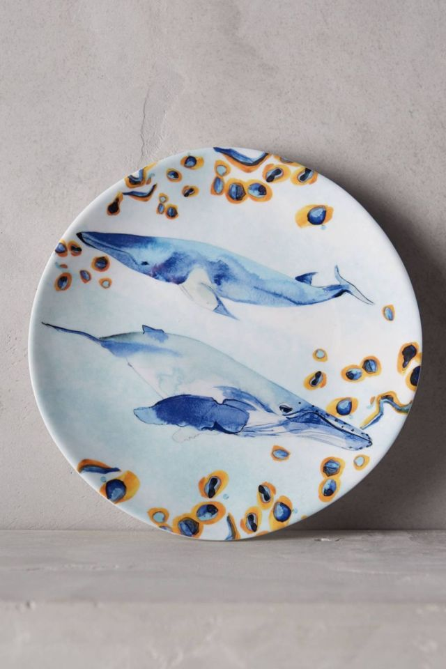 Under The Sea Melamine Canape Plate