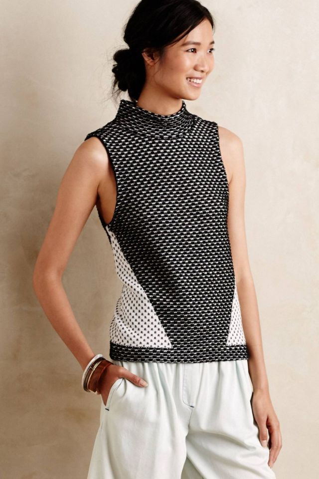Vacaria Turtleneck Tank by Moth