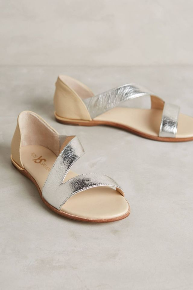 Casey Metallic Sandals by Yosi Samra