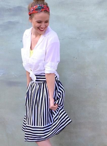 High Seas Skirt by Maeve
