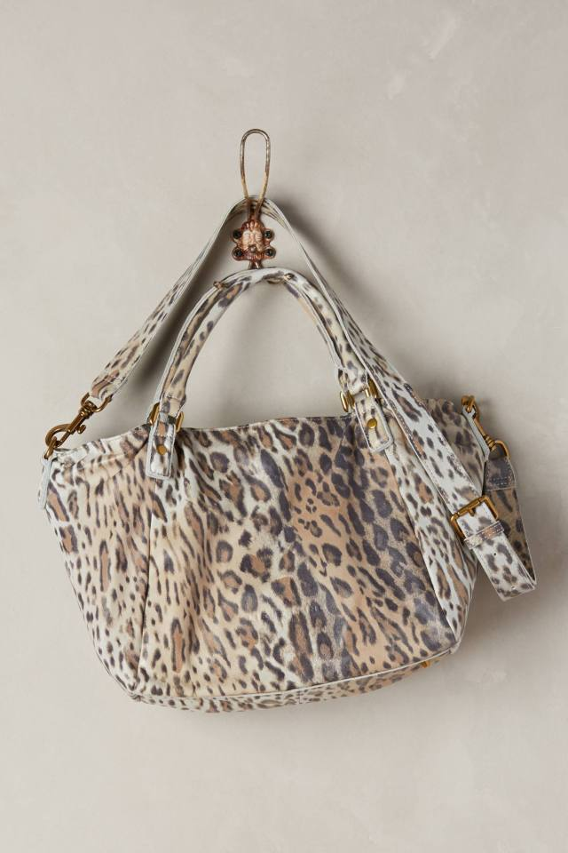 Amanda Leopard Shoulder Bag by Liebeskind