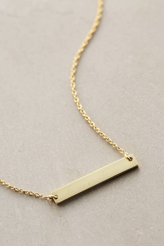 Dance Bar Pendant by Samantha Wills
