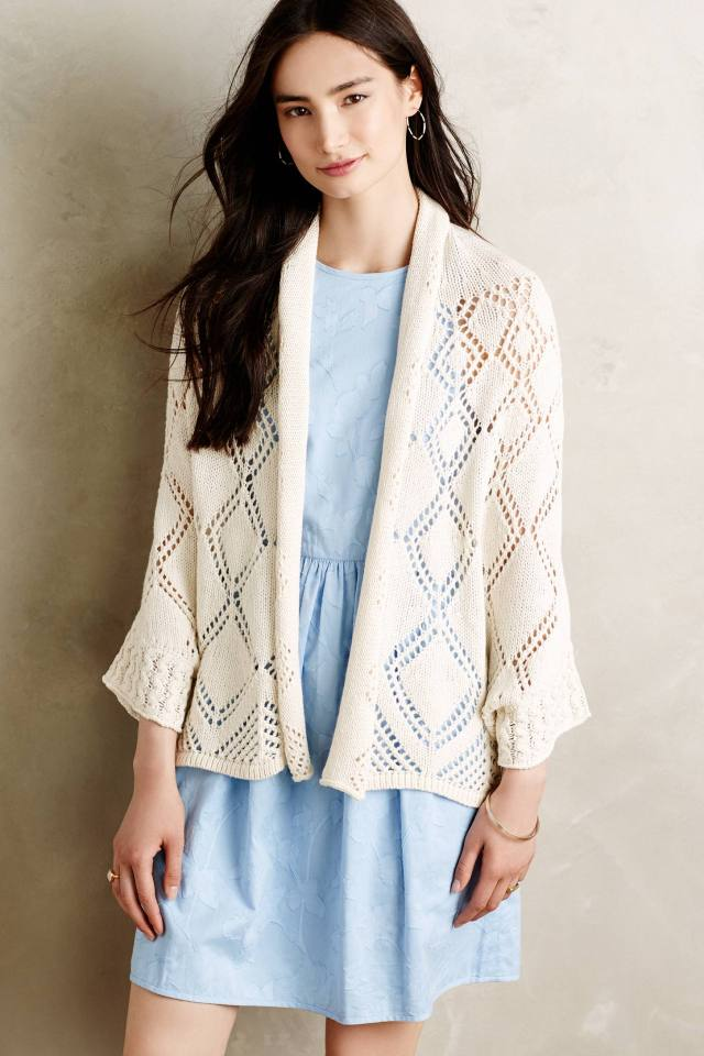 Graduated Diamonds Cardigan by Angel of the North