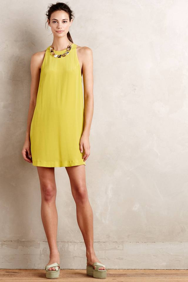 Idalia Silk Swing Dress