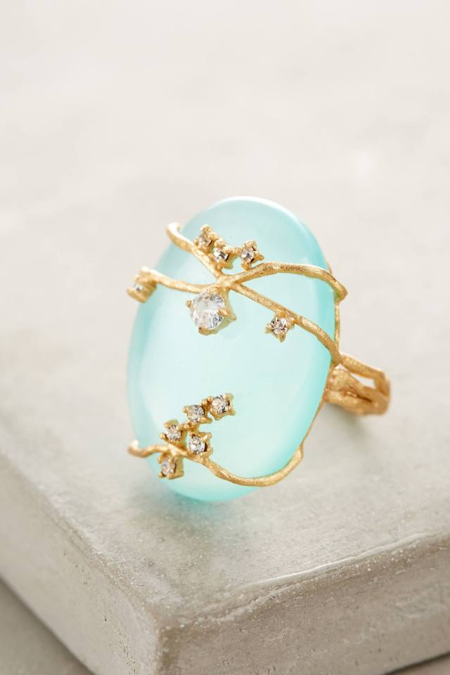 Ivied Looking Glass Ring by Indulgems