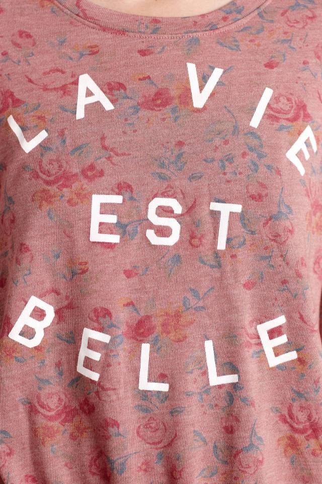 La Vie Sweatshirt by Sundry