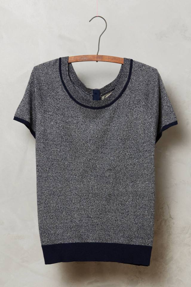 Marled Sweater Tee by Field Flower by Wendi Reed