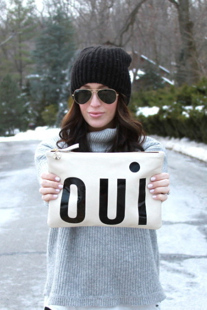 Oui Pouch by Clare V