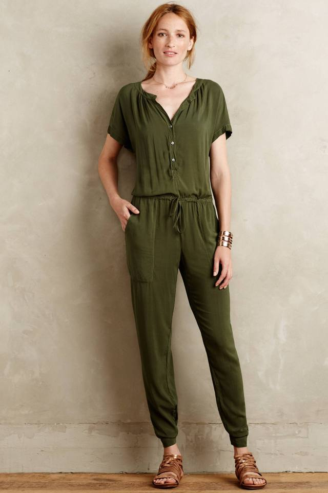 Paratroop Jumpsuit by Velvet by Graham and Spencer