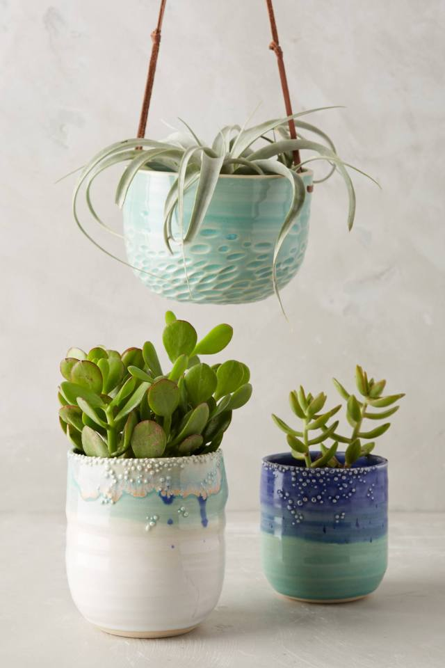 Sea Bubbles Hanging Planter by Unurth