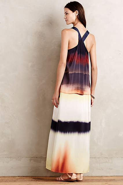 Silk Horizon Maxi Dress by HD in Paris