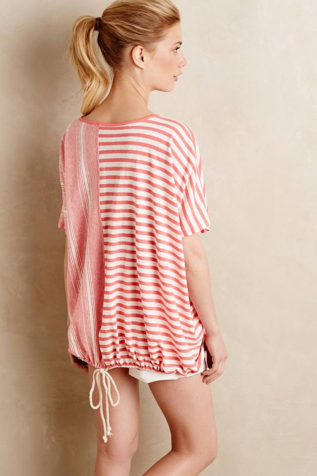 Tied Linen Tunic by Blue Tassel