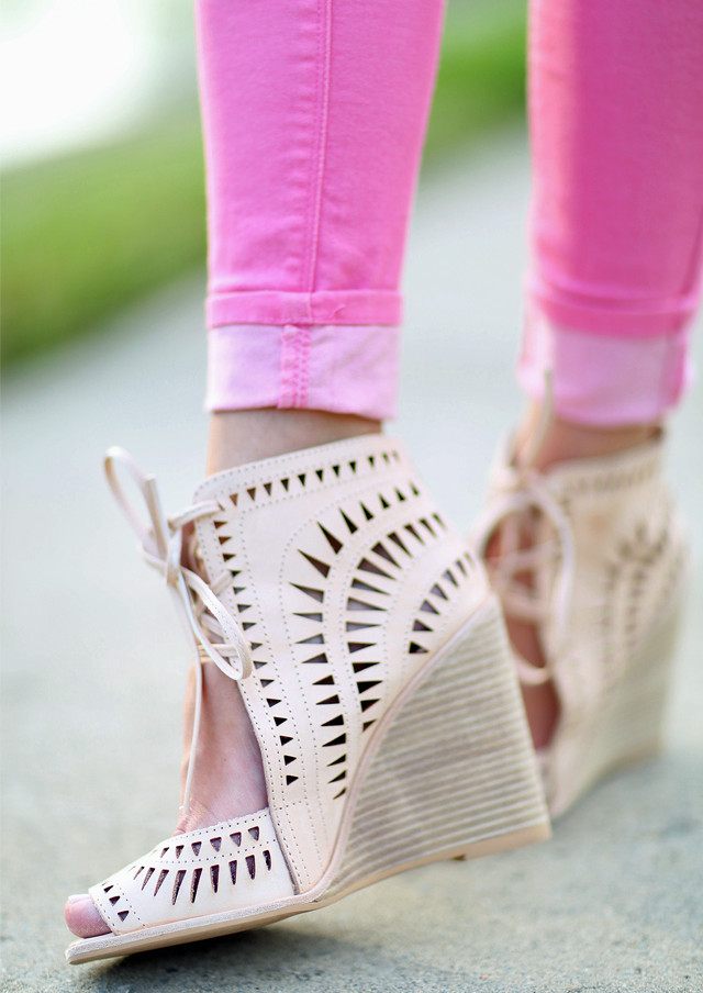 Jeffrey Campbell Rodillo Wedges