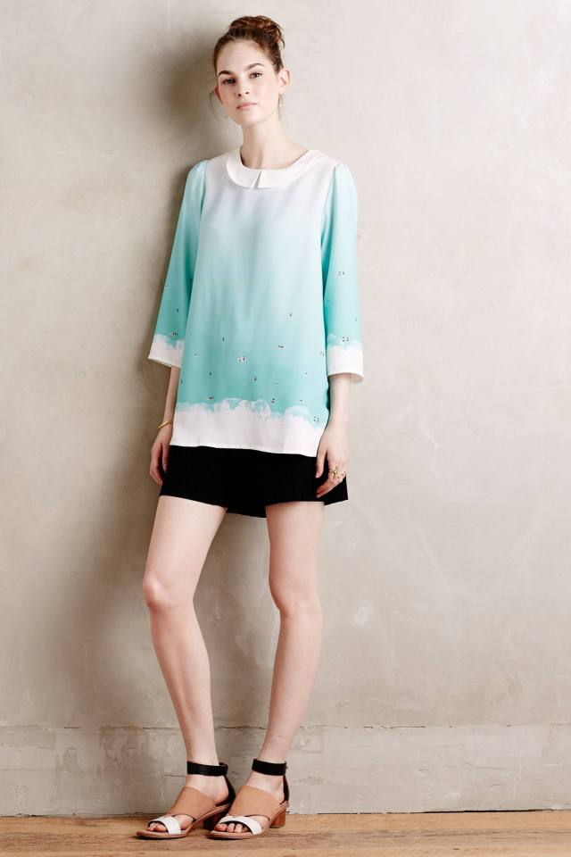 Blue Lagoon Blouse