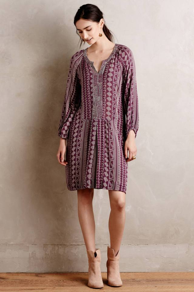 Ipiales Tunic Dress by Velvet by Graham and Spencer