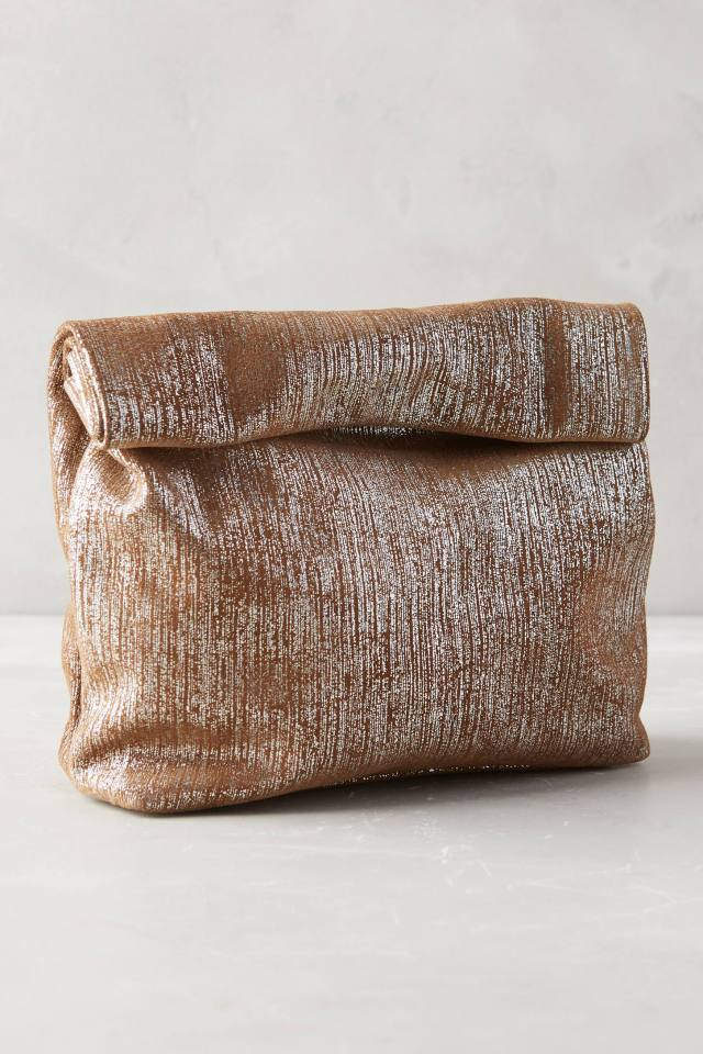 Textured Dejeuner Clutch by Marie Turnor