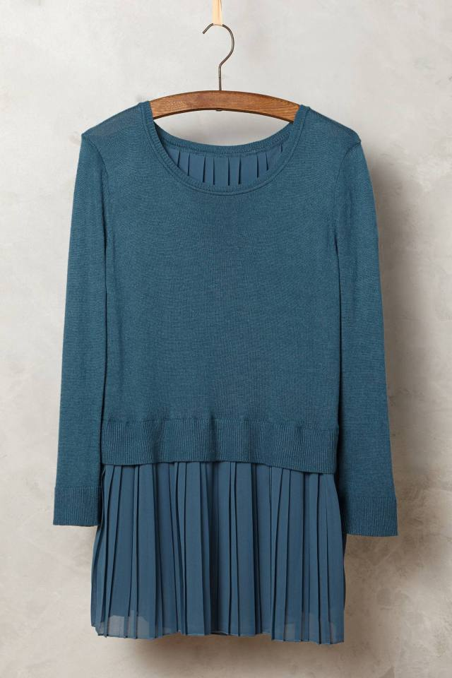 Skirted Titine Pullover by Moth