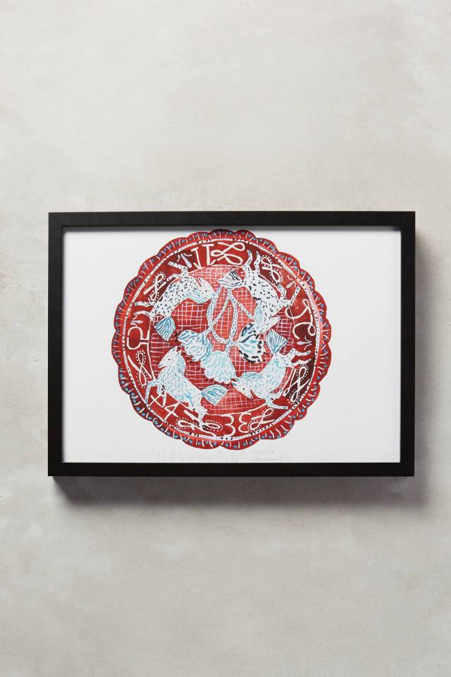 A Plate For Oats Wall Art by Cornelia O'Donovan