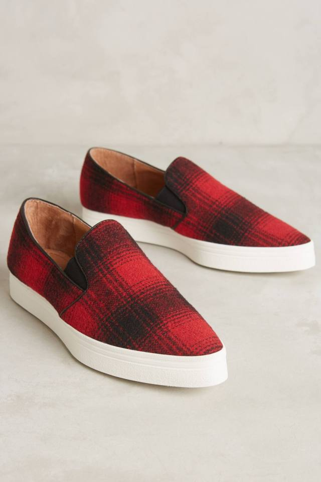 Flannel Sneakers by All Black
