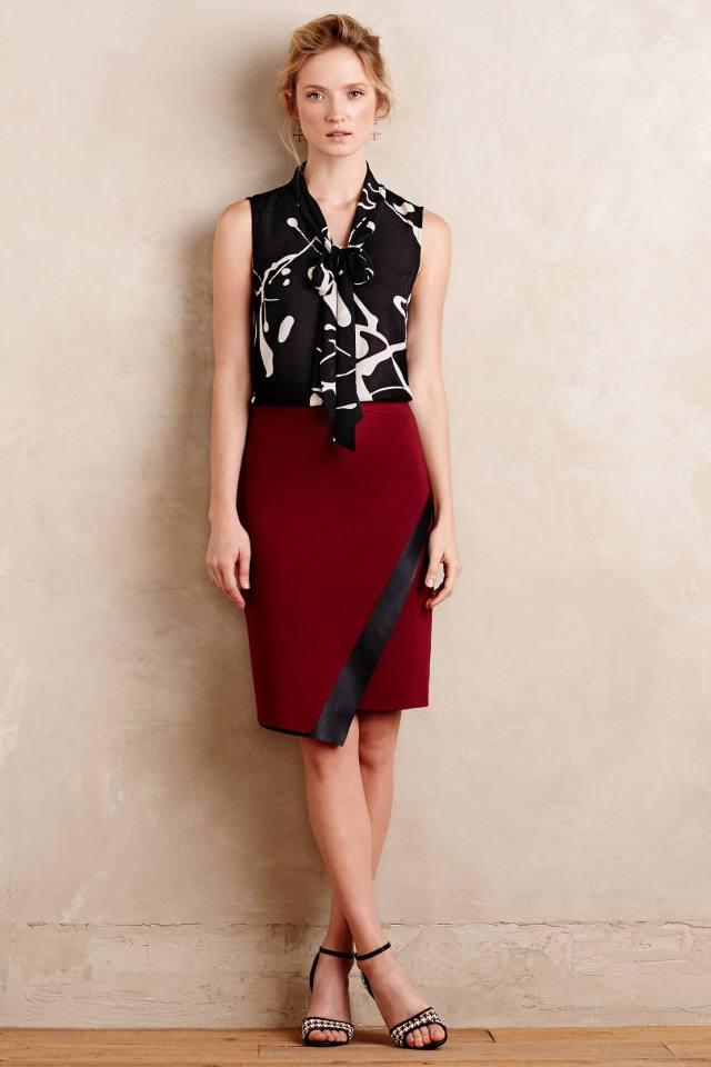 Astin Wrap Skirt by Bailey 44