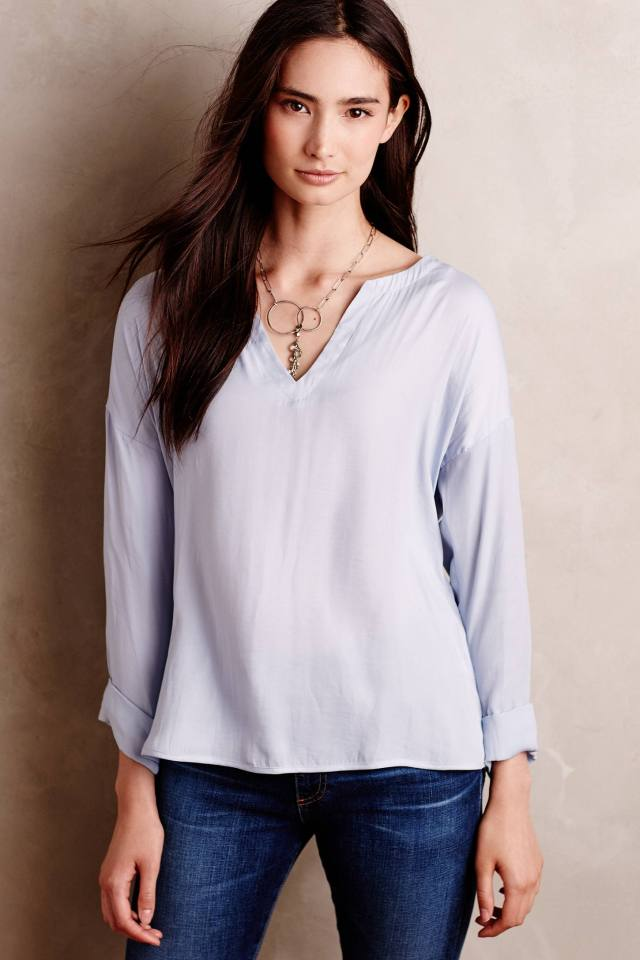 Bernina Peasant Top by Dolan