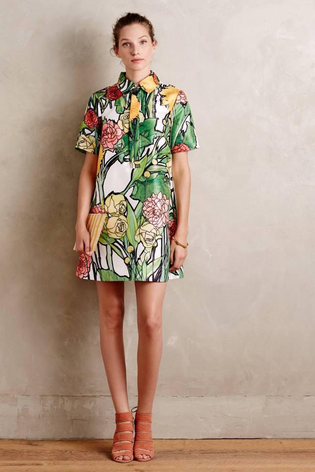 Botanist Shirtdress by Jena.Theo
