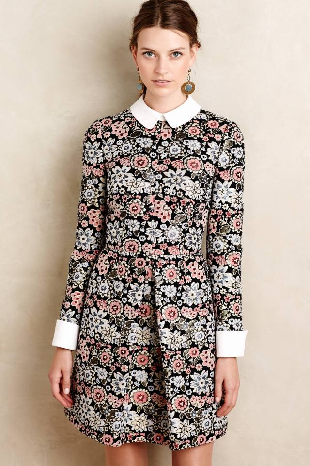 Brocade Blossom Mini Dress by JILL Jill Stuart