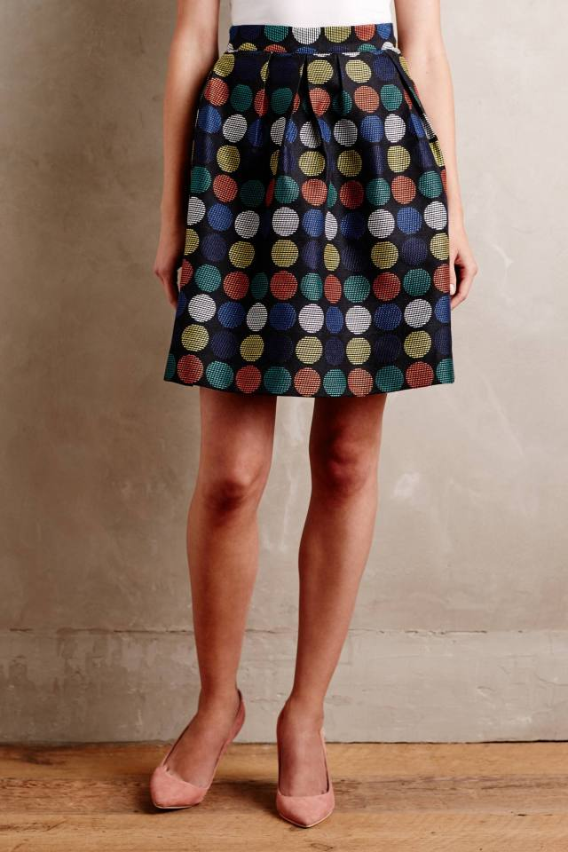 Dotset Mini Skirt by Hutch