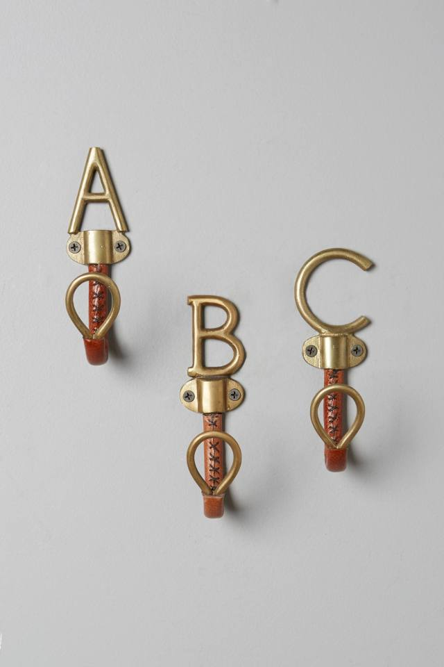 Equestrian Monogram Hook