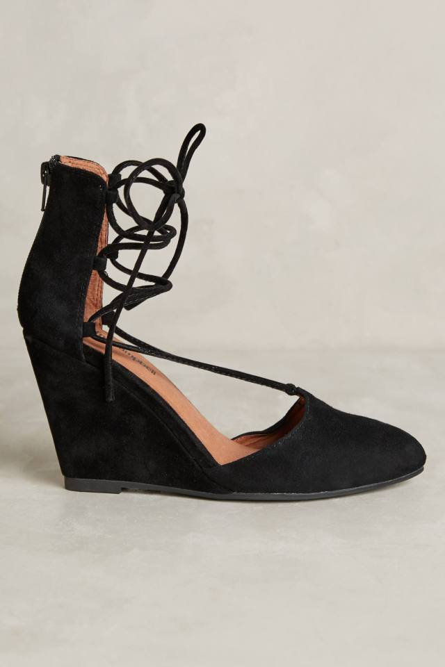 Ouverte Wedges by Jeffrey Campbell