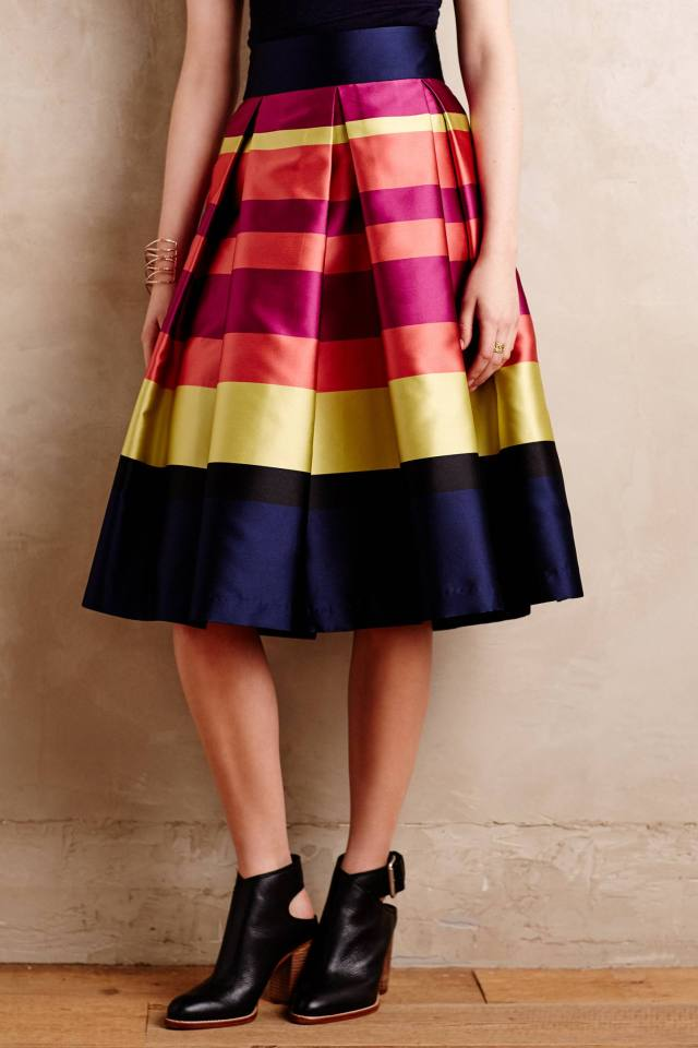 Marigot Pleated Skirt by Moulinette Soeurs