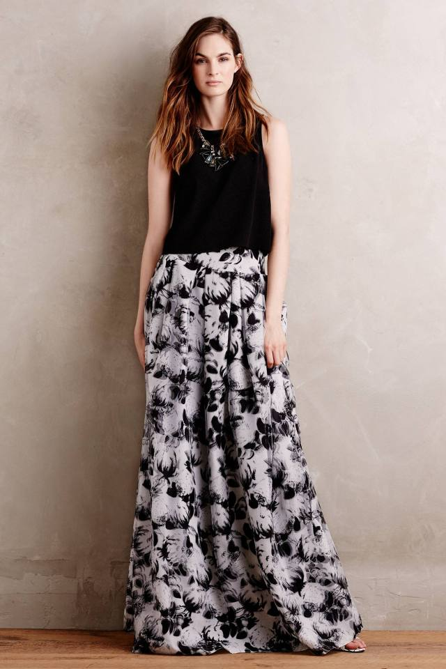 Shadowplay Skirt by Noir Sachin and Babi