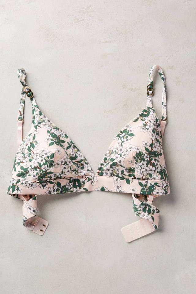 Blushed Blossom Bra by Stella McCartney