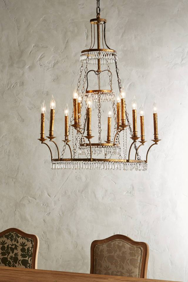 Tiered Vendome Chandelier