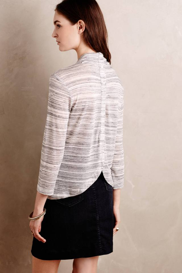 Tulip-Back Mockneck by Ro & De