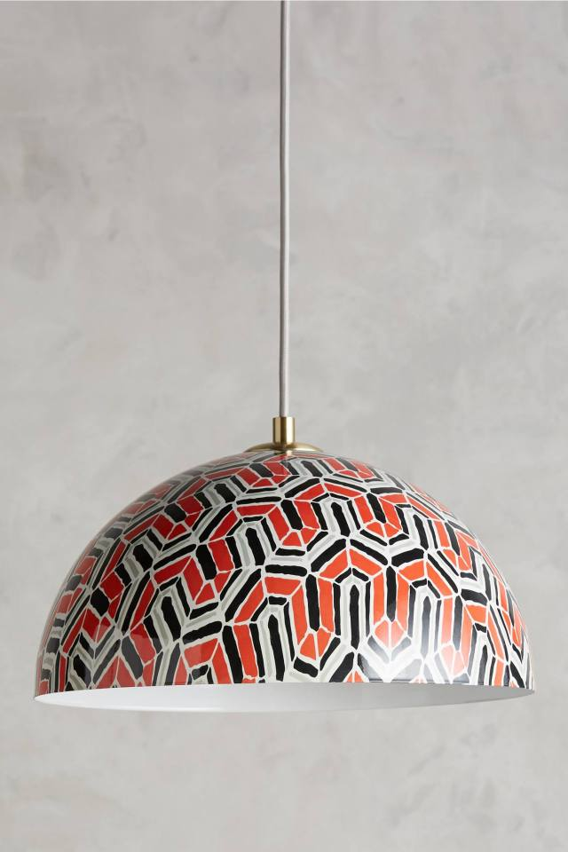 Winding Course Pendant Lamp