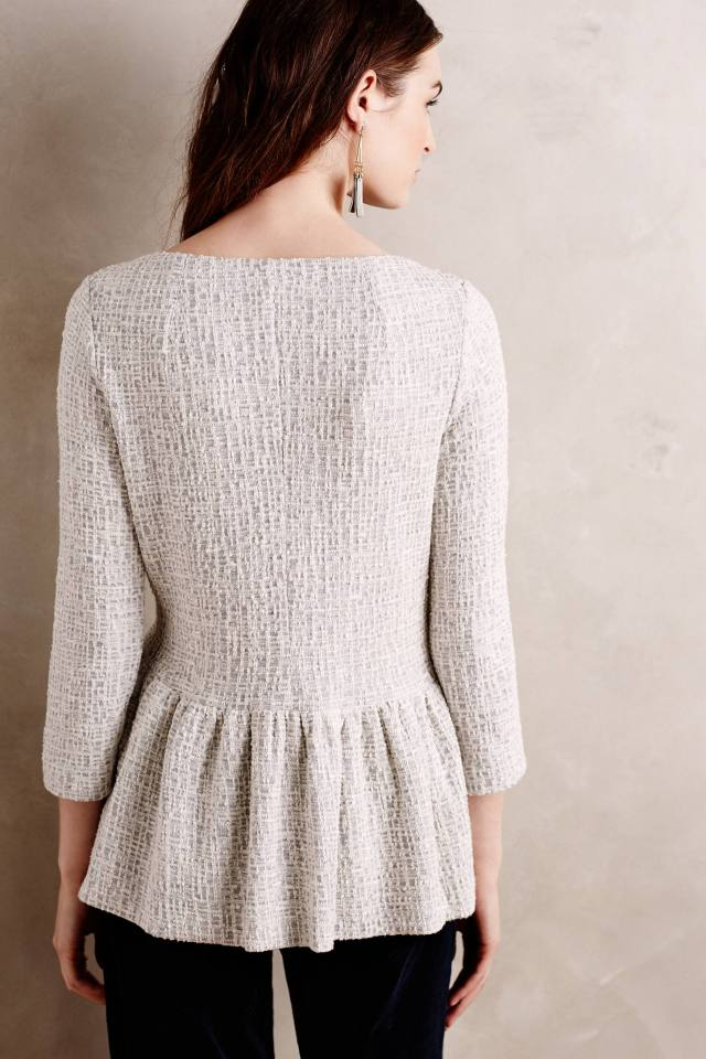 Winnowed Hem Pullover by Amadi