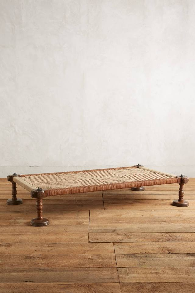Woven Leather Daybed