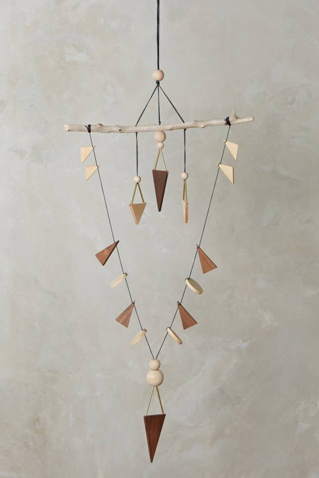 Arrow Chime Wall Hanging by Lio and Linn