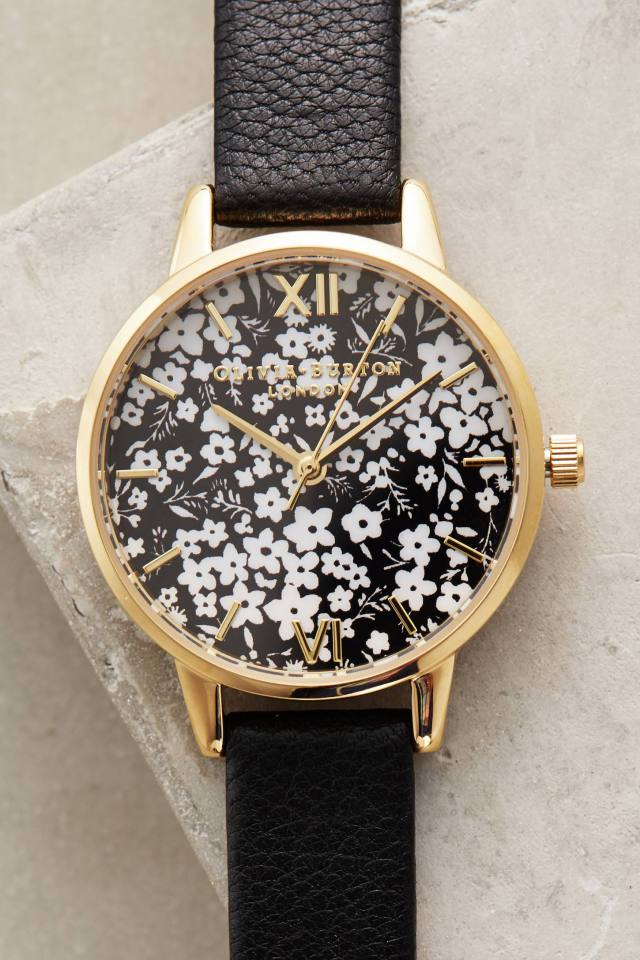 Ditzy Floral Watch by Olivia Burton