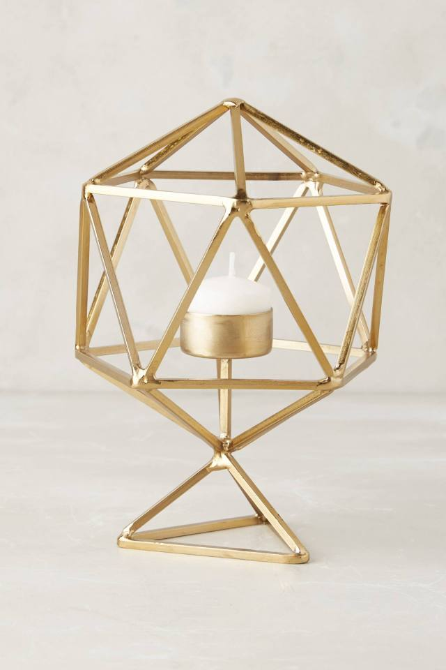 Hexacut Candleholder