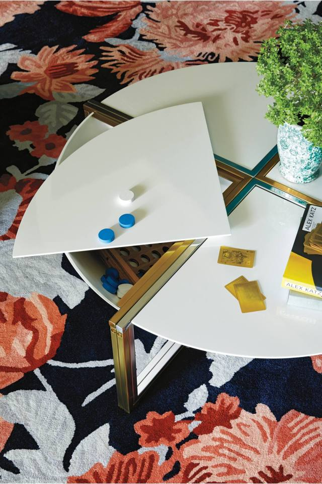 Lacquered Cache Coffee Table by Tracey Boyd