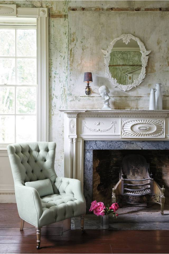 Linen Julienne Chair