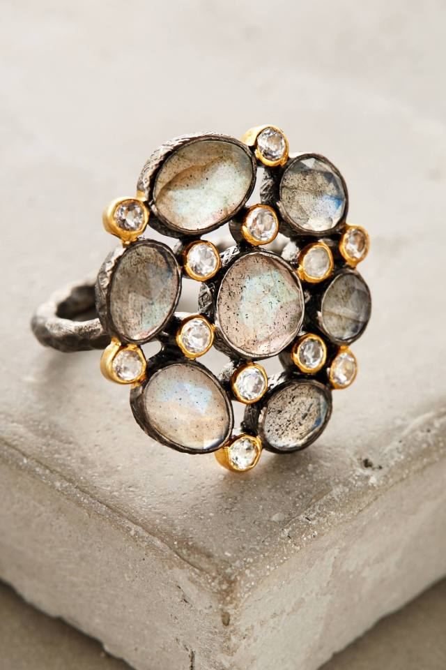 Moonflower Ring by Robindira