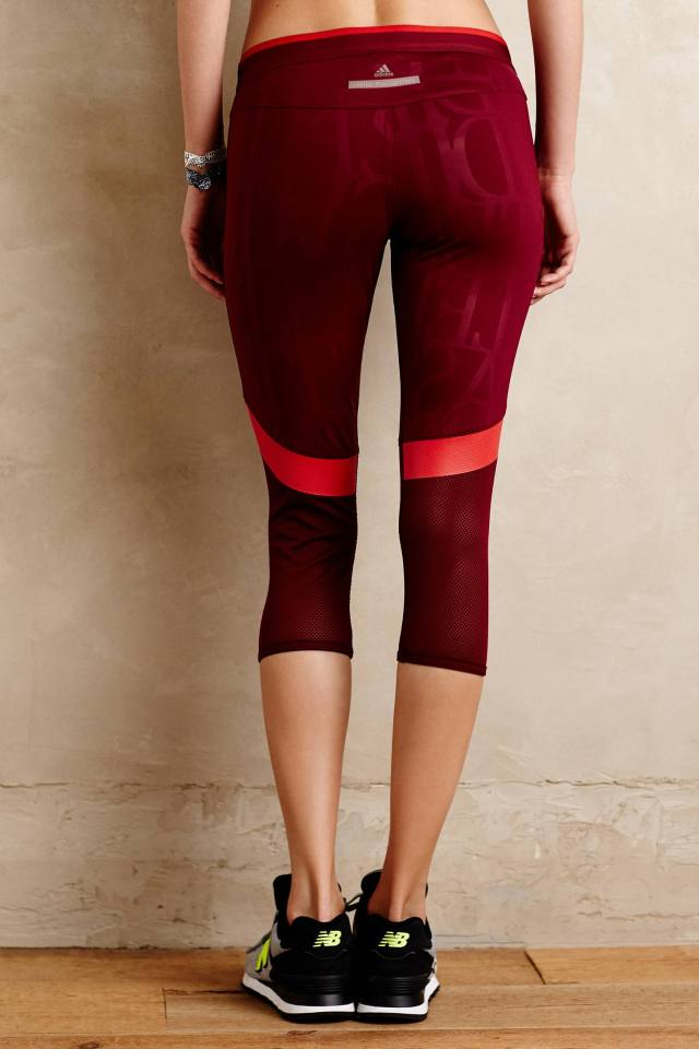 Run 3/4 Tights by Adidas by Stella McCartney