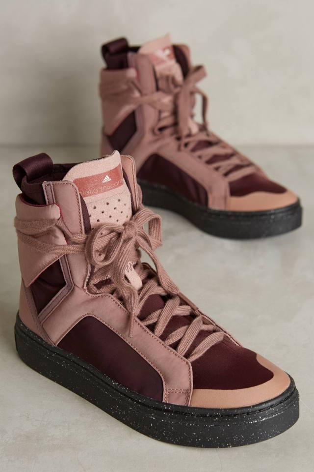 Adidas by Stella McCartney Essentials High-Top Sneakers