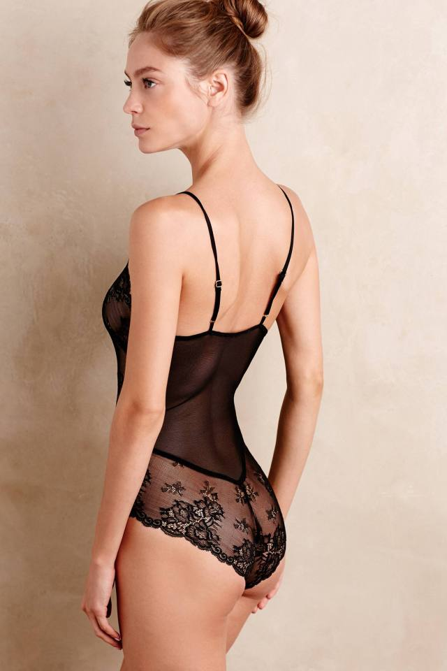 Lace Bodysuit by Flora Nikrooz